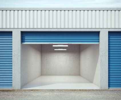 Fully automatic roller doors with photo-electric sensors have the ability to detect approaching stock.