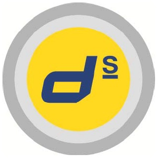 Doka's d^s button is a visible sign pointing to where customers particularly benefit from the safety of Doka products.