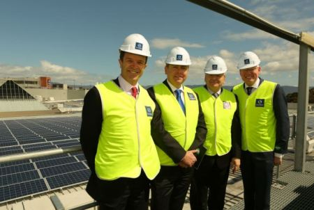 Speakman, Roberts, Schroder and Stockland Group Executive and CEO Gareth Ward MP.