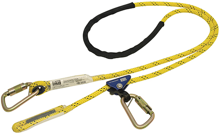 Rope pole strap range for Dbi sala colombia