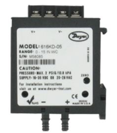Differential Pressure Transmitter | Series 616KD