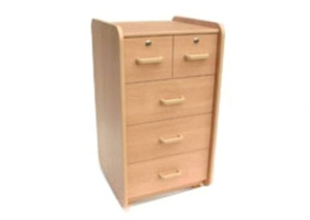 Cabinet Bedside 3 X Drw