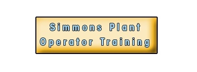 Simmons Plant Operator Training & Assessment Services